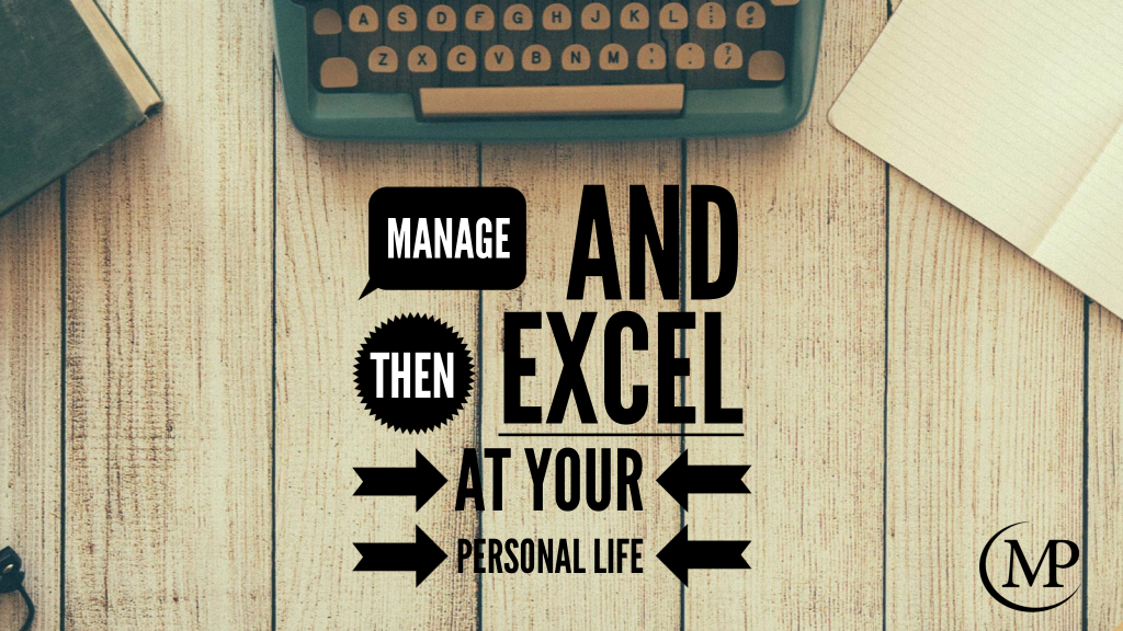 Manage Personal Life