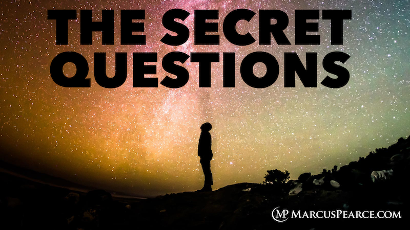 Secret Questions to an incredible career