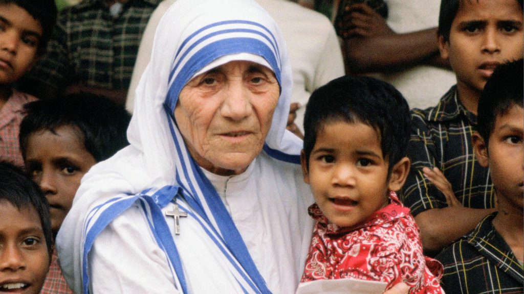 Mother Theresa Forgiveness