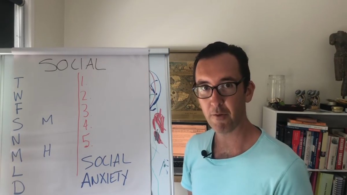 Social Anxiety and the SECOND Hardest goal to set in 2020