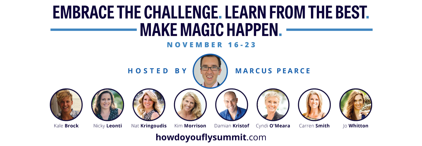 Quirky Cooking, How Do You Fly Summit