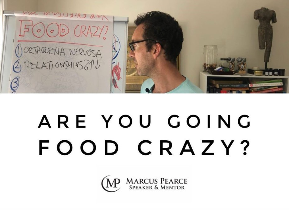 Are you going food crazy?