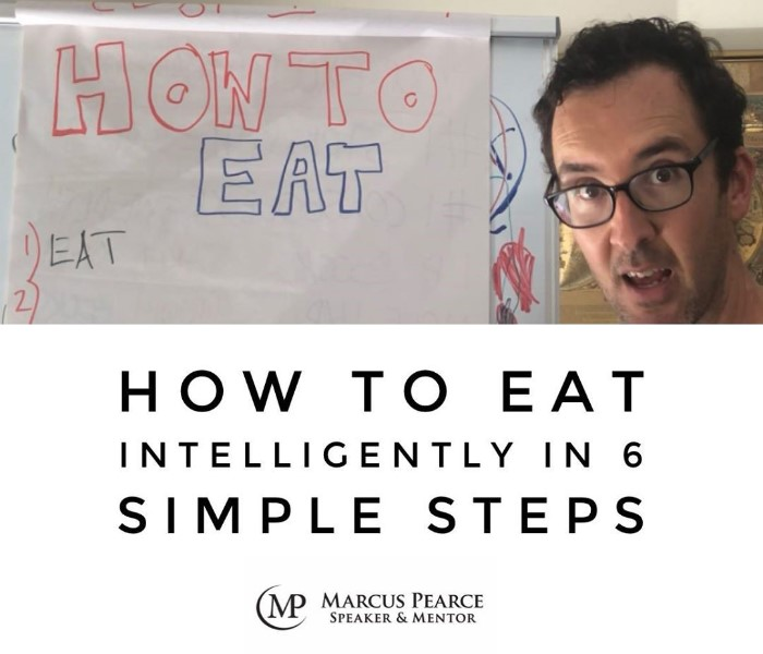 HOW TO EAT Intelligenty in 6 Simple Steps