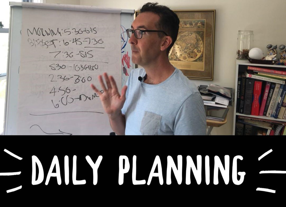 Daily Planning - boring or exciting?