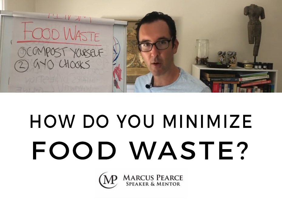 How do you minimize food waste