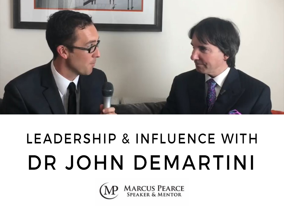 Leadership & Influence with Dr John Demartini