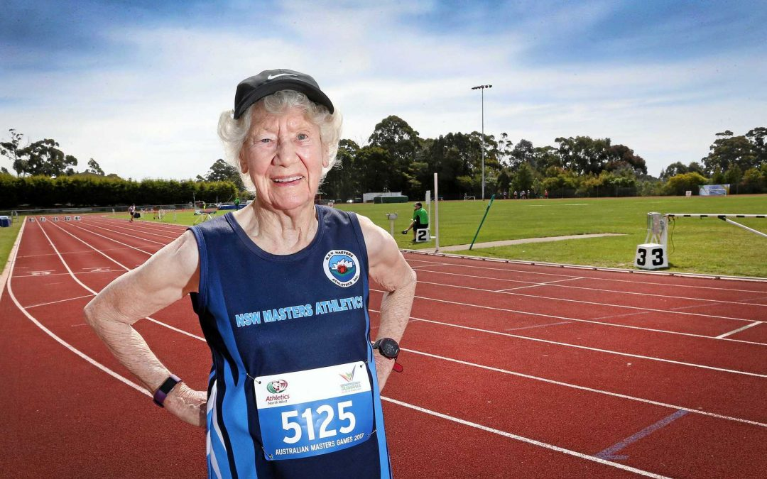 Heather Lee - The fast walking nonagenarian is locked down but not out!